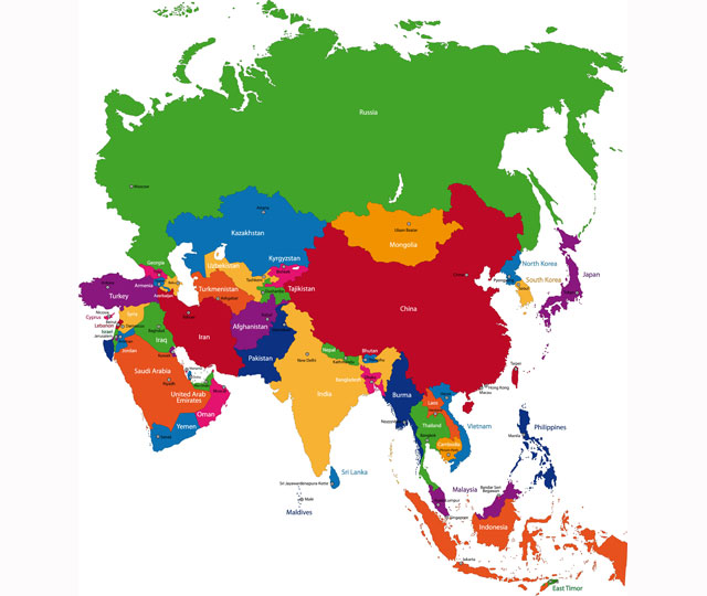 What Is Asia Asia Is The Largest Continent In The World It Joins - What is the largest continent