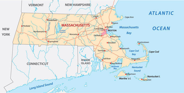 What is Machusetts? Machusetts - The Bay State - is a New ... Capitals Of New England States on