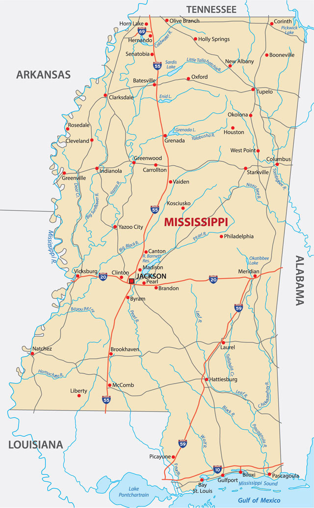 Picture of: What Is Mississippi Mississippi The Magnolia State Is One Of The East South Atlantic States Its Capital Is Jackson