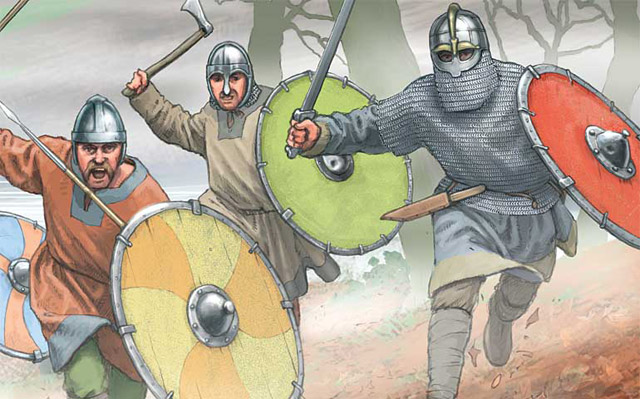 who were saxons  anglo