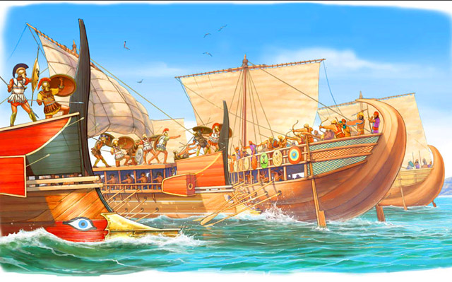 What Was A Trireme A Trireme Was One Of The Largest Of